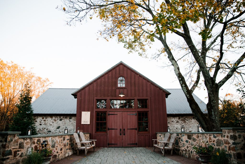 exterior photo of Grace Winery