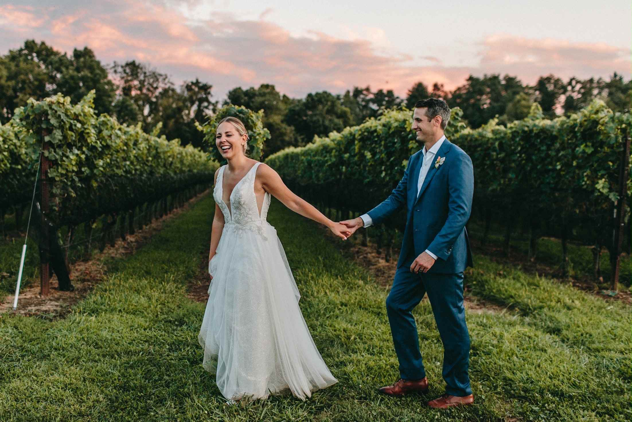 Photo of a couple at Grace Winery